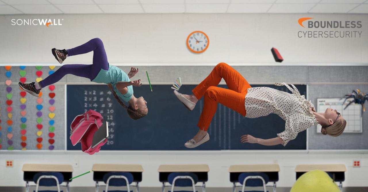 SONICWALL WEBINAR: Zwischen Tafel und Tablet: IT-Sicherheit an Schulen